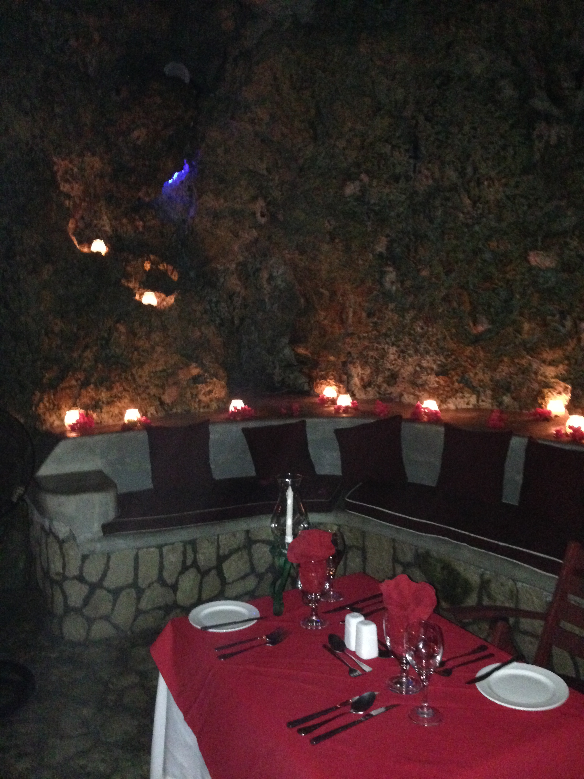 Private Cave Dinner at The Caves, Negril
