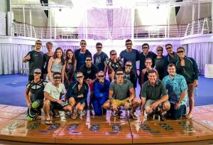 Cast of Fine Line on Harmony of the Seas