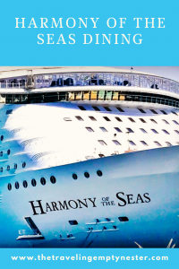 Harmony of the Seas Dining Review