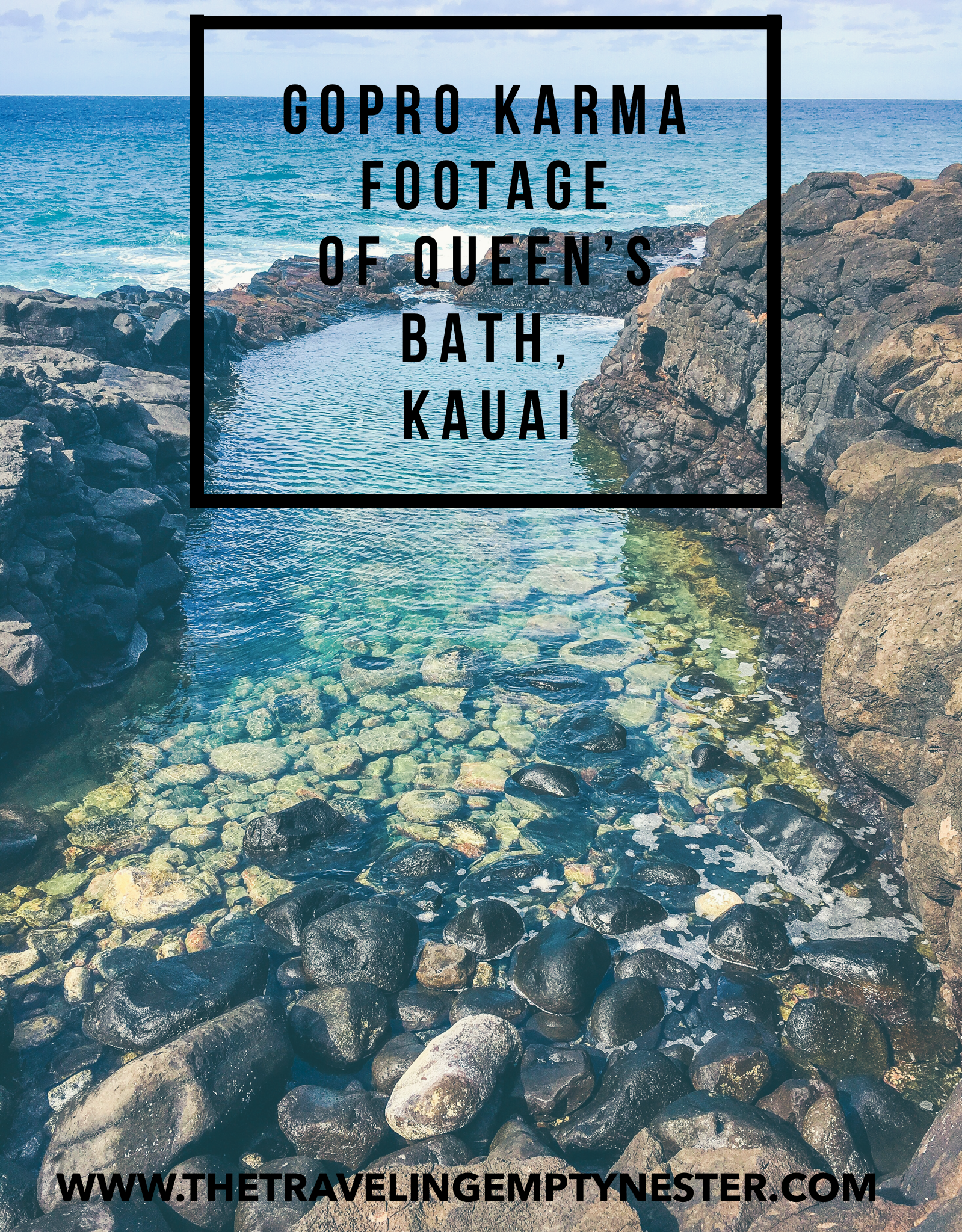 Queen's Bath on Kauai