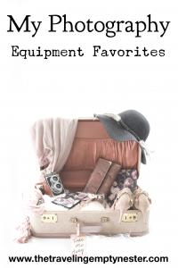 My Photography Equipment Favorites