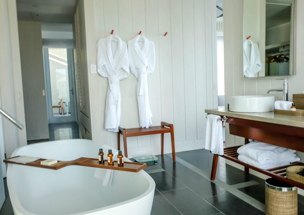 Park Hyatt St Kitts Nevis Peak Suite Bathroom