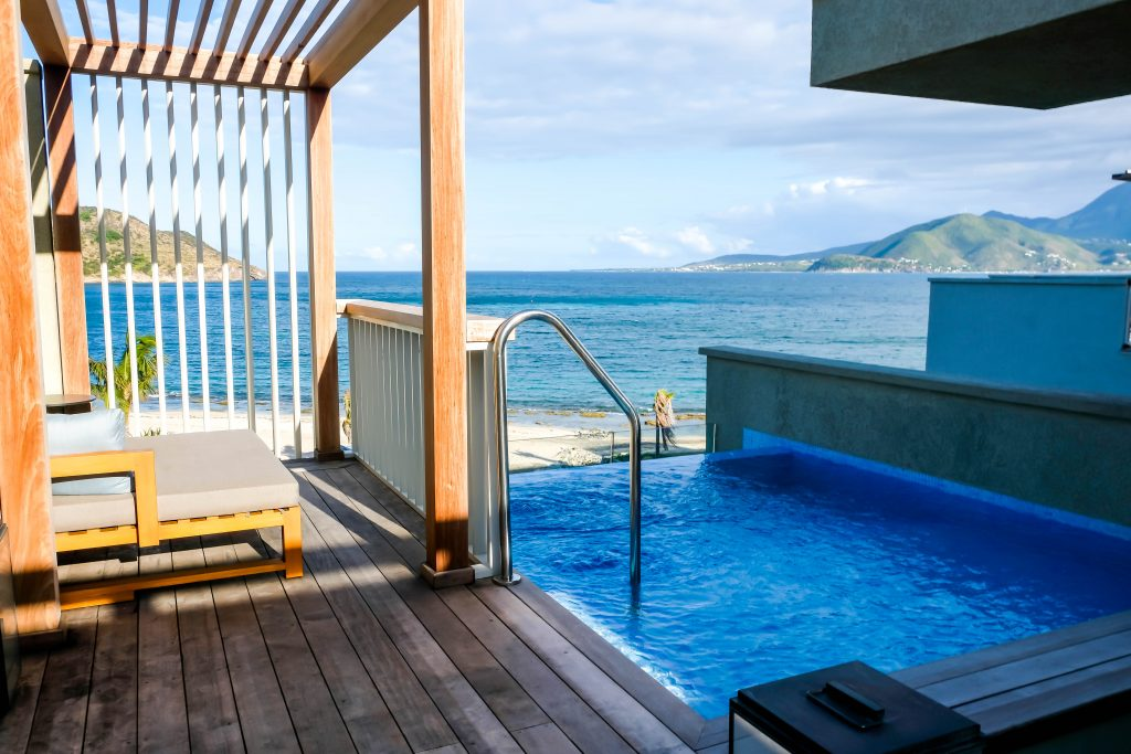 Park Hyatt St Kitts Nevis Peak Suite Double Room Plunge Pool