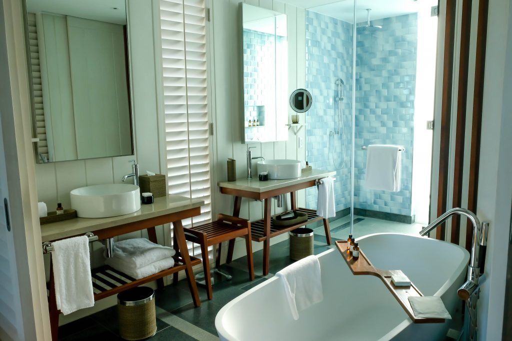 Park Hyatt St Kitts Nevis Peak Suite Double Room Bathroom