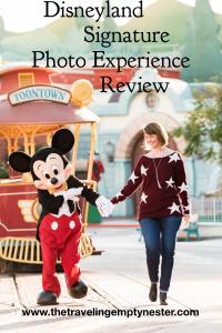 Disneyland's Signature Photo Experience Review